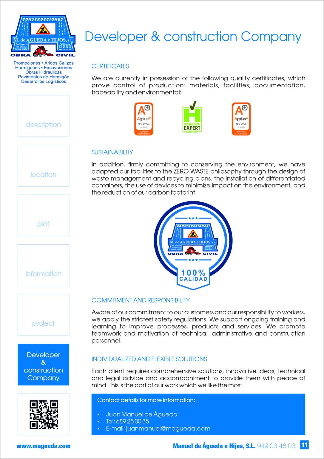 Certificado-Developer-Construction Company